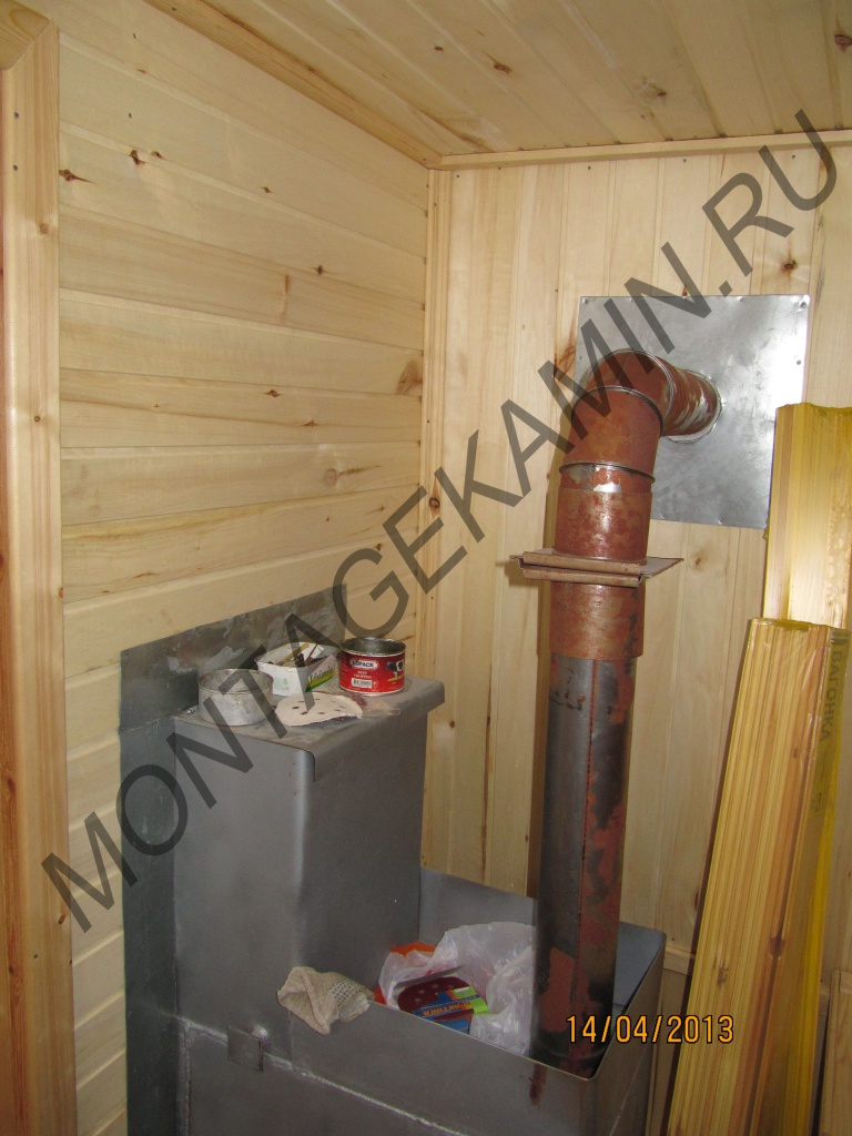Реконструкция банных печей